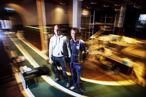 Peter Lundin och Anders Anderheim öppnade i november 2013 upp portarna till Cuprums nya lokaler. Nu är allt till salu.