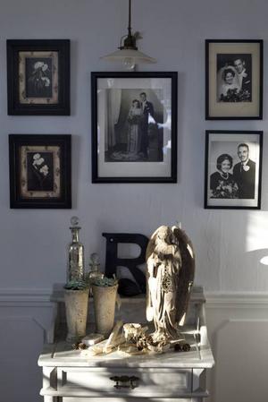 Släktträd av gamla fotografier.