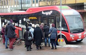 Sista turen med handelsbussen rullar 30 november.