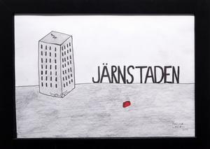 """Fredrik Larssons """"Järnstaden."""