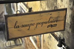 Stilrent på succérestaurangen La Soupe Populaire.   Foto: Anders Pihl