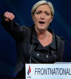 Marine Le Pens Front National är ett parti med tydligt antisemitiska rötter,