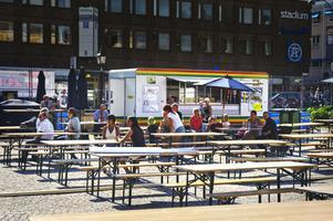 Det var glest i publiken under Rånockfestivalen trots fint väder. Arrangörerna hade hoppats på fler besökare under de dagar som festivalen hade inträde.