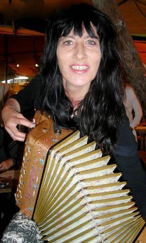 I spel- och mattältet spelade Hanne E Dahl skjortan av många. Hon kom från Mo i Rana.