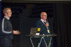 Mikael Lundström, tävlingschef på ishockeyförbundet.