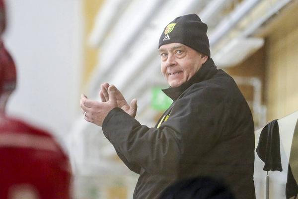 Jörgen Paalanen, tränare i Sveg. Bilden är tagen vid ett annat tillfälle.