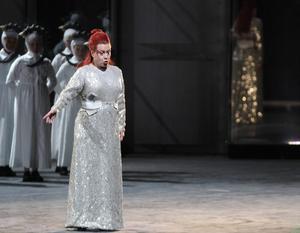 Nina Stemme som prinsessan Turandot.