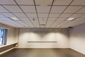 Det har lagts stort fokus på ventilationen i de nya lokalerna. Allt är automatiserat och styrs beroende på mängden människor i lokale.