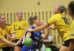 Sofia Einars satte, som vanligt, full fart i attackerna.