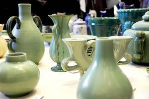 Vaser och ljusstakar från 1930- och 1940-talet, Gefle Porslin.