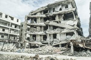 Aleppo är kanske världens mest krigsförstörda stad just nu. Fotot är från 12 mars.
