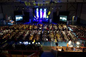 Västerås Idrottsgala arrangeras i Bombardier Arena. Foto: VLT ARKIV