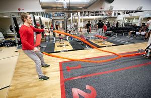 Snakerope eller ormrep är ett nytt redskap som man både kan träna styrka, kondition och balans med.