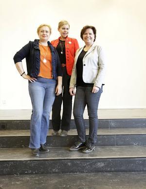 Qoola qvinnor, Dora Vig Bjon, Gerd Wallin och Annica Järking.
