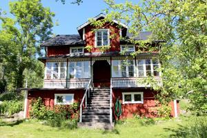 Grosshandlare Eldblom byggde ett sommarnöje med stil.