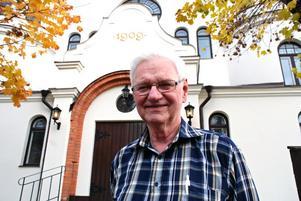 Arne Borg, RPG Rättvik berättade om RPG:s engagemang för äldre människors hälsa och välbefinnande. -Vi talar om en sund själ i en sund kropp, sa Arne.