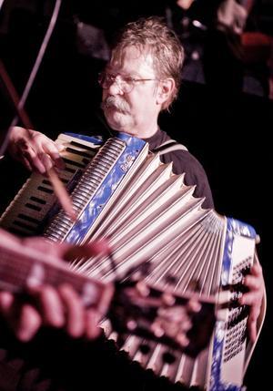 Magnus Linds solo på dragspel gillade publiken.