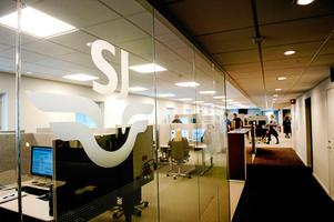 SJ:s servicecenter i Ånge blir från och med 1 september 2018 en del av det globala jätteföretaget Webhelps verksamhet.Foto: Mårten Englin