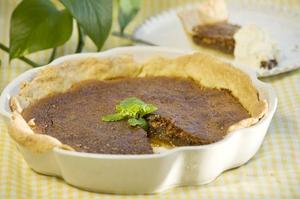 Mississippi Mud Pie är en klassiker i USA.