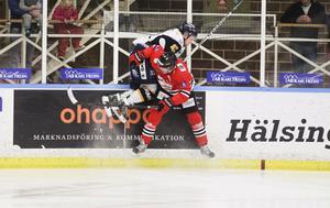 Hudik Hockey har fortfarande inte tagit någon trepoängare hemma i Glysishallen.