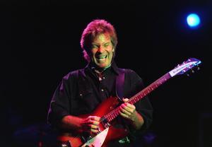 Stockholm, 1997. Den amerikanske sångaren och låtskrivaren John Fogerty, frontfigur i  rockbandet Creedence Clearwater Revival.