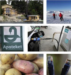 Landsbygdsstrategin innefattar allt från apoteksreformen, till strandskyddet, till mer entreprenörskap, till Sverige som främsta matland, turism, satsningar på biogas och behovet av bredband.