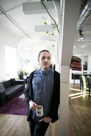 Alexander Backlund är anställd på Panang sedan ett år tillbaka.