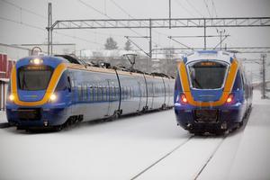 Tågen gick enligt tidtabell och endast några mindre störningar rapporterades under torsdagen. Trafikverket rekommenderar tåget om man ska resa i helgen.
