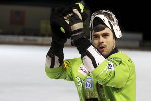 Niklas Prytz tackade de drygt tvåtusen i publiken, och de tackade Bollnäs målvakt.