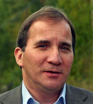 Porträttbild på Stefan Löfven i Undrom den 6 oktober 2005.