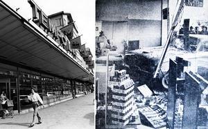 GD:s fotograf Kurt Elfström tog Tempobilden 1979 som fick Henry Wikström att minnas en annan bild från GD, den på bilden som körde in i Tempos skyltfönster. Vi fotograferade av den från GD:s förstasida 22 januari 1962.