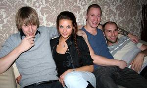 Tabazco. Sebastian, Sanna, Micke och Roffe
