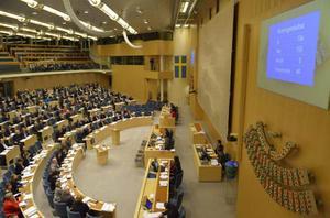 På onsdagseftermiddagen stoppa en riksdagsmajoritet regeringens försök att sänka inkomstskatten.