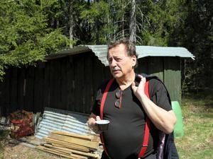 Jens Nilsson besökte Järbo på torsdagen.