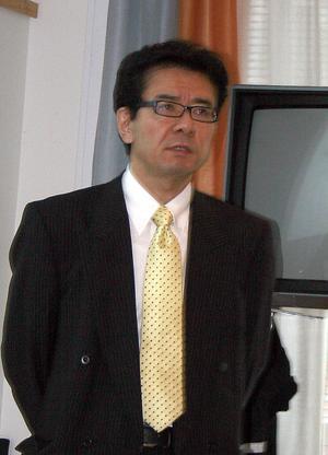 Lean-tänkandet för vården började utvecklas i Japan redan på 70-talet, säger Shinya Shirahama–San som besökte landstinget under torsdagen.