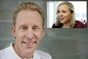 Gunde Svan är själv frisk från Twar men nu oroar han sig för familjen - inte minst dottern Julia, som är en av Sveriges mest lovande skidtalanger.