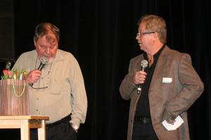 En samspelt duo, Kent Falkenström t.v och Christer Sundgren, som när många planer på ett pånyttfött och attraktivt Stocka.