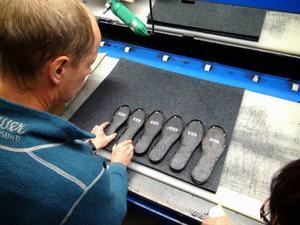 Om det går vägen innebär Woolpowers nya skosulor av merinoull nyanställningar vid företagets anläggning i Östersund.