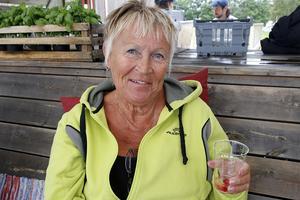 Lisbeth Winter tyckte mycket om arrangemanget Smakfest Höga kusten.