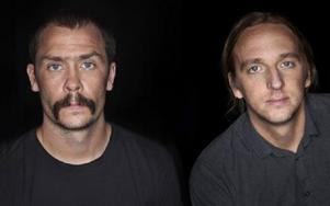 Johan Persson och Martin Schibbye. Foto: Magnus Bergström