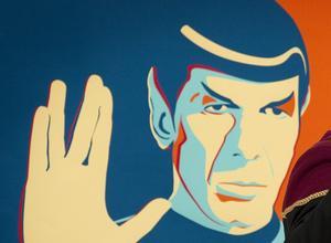 Spock kämpar för att inte låta sig styras av känslor. Foto: TT