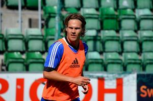 Sebastian Rajalakso tar plats i GIF-truppen mot Öster.