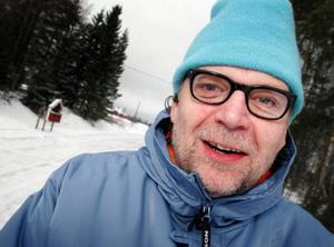 Skådespelaren Mikael Rahm är en av deltagarna vid protestmötet på söndag.