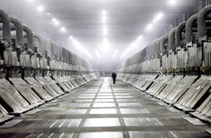A-hallen på Kubal. På onsdagen drabbades hela fabriken av strömavbrott och produktionen stoppades.