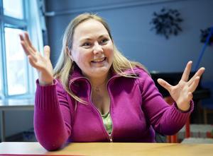 Anita Jacobson, Stöde, är en av finalisterna i dramatiktävlingen Ny text.
