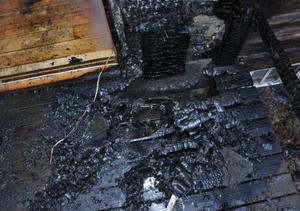 Räddningspersonal från Sveg, Ytterhogdal och Lillhärdal kämpade mot elden.
