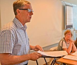 Kommunrevisorernas ordförande, Folke Bäck (S) delar Deloittes slutsatser. Arkivbild:Åsa Evertsdotter.