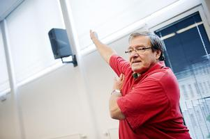 Ingo Janeck, ordförande för Hjärt- och Lungsjukas Förening i Göteborg, fick en hjärtinfarkt 2001. (Arkivbild)