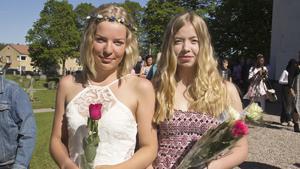 Snart börjar gymnasiet men först tänker Julia Nielsen och Malin Sass ta det lugnt i sommar. Julia Nielsen ska plugga på Karlforska gymnasiet i Västerås och Malin Sass ska gå på Ullvigymnasiet i Köping.