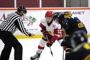 Jacob Robbins var Hedemoras bäste spelare mot Wings HC Arlanda och en av få som var beredd att ta jobbet som krävs för att vinna en match.